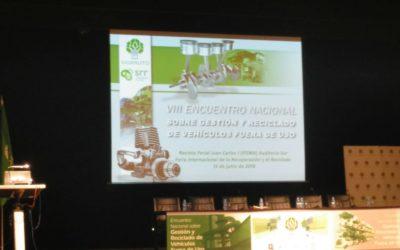 ANGEREA acude al VIII Encuentro Nacional Sobre Gestión y Reciclado de Vehículos Fuera de Uso