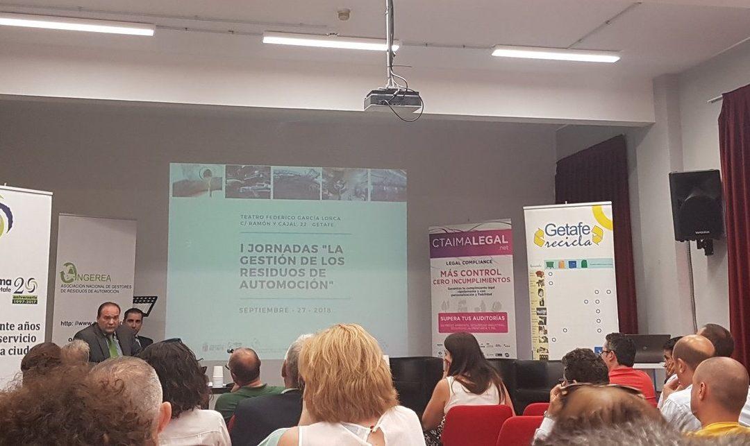 Éxito de la Jornada sobre Gestión de Residuos de Automoción organizada por ANGEREA