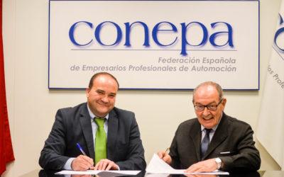 ANGEREA y CONEPA firman un acuerdo de colaboración