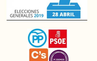 ANGEREA da a conocer a los partidos políticos candidatos a las elecciones generales la realidad del sector de los gestores de residuos de automoción.