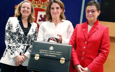 Teresa Ribera expresa su compromiso con la España que quiere tener oportunidades