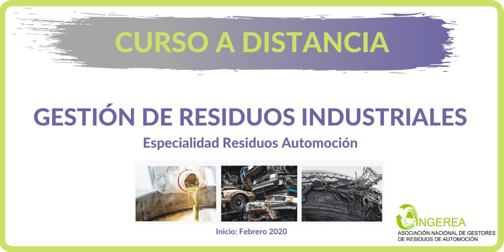 Curso de Gestión de Residuos Industriales