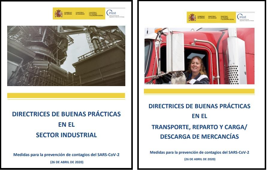 Publicadas Directrices para el transporte, reparto y carga y descarga de mercancías y para el sector industrial