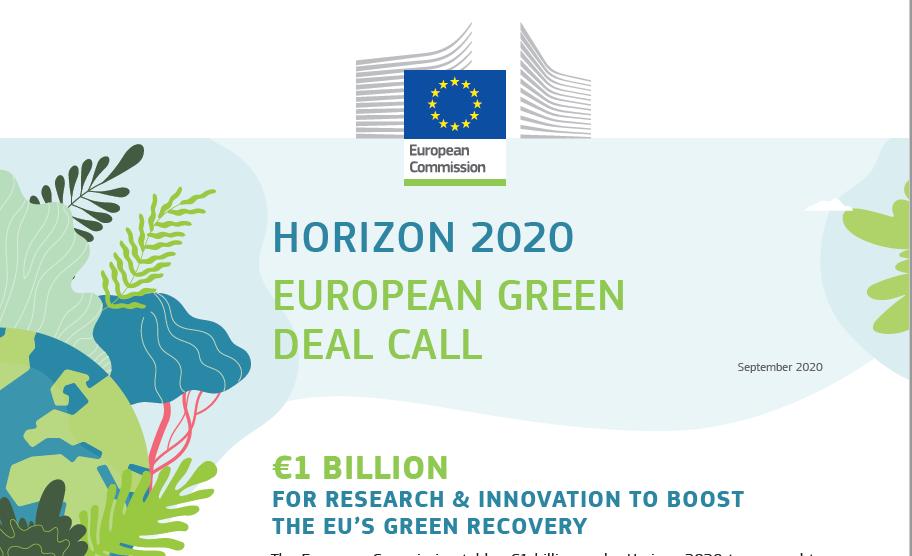 Abierta la convocatoria de ayudas del Pacto Verde Europeo (European Green Deal)