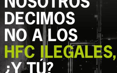 ANGEREA se une a la lucha contra el comercio ilegal de HFC