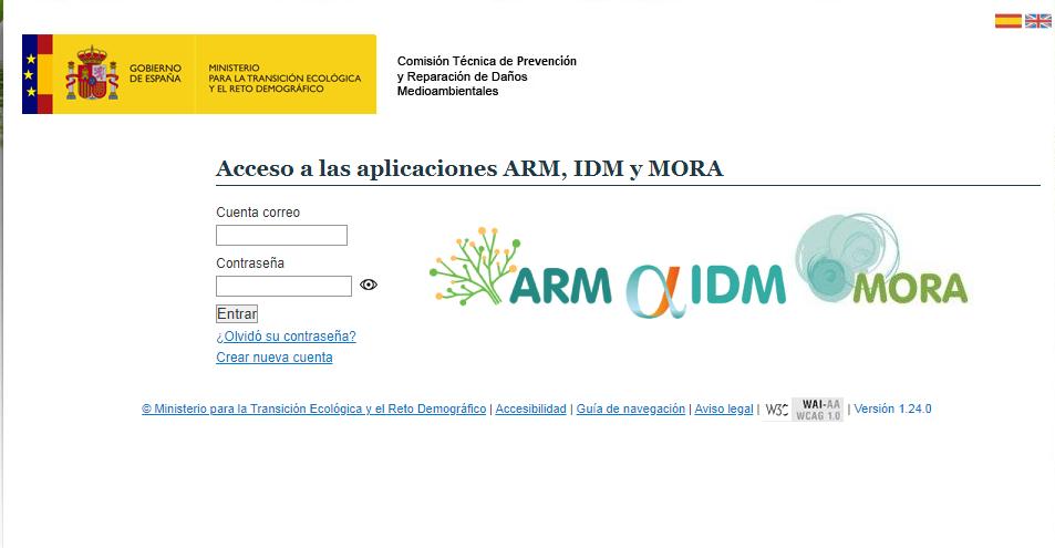 el MITECO desarrolla ARM LA Aplicación informática para el desarrollo de los análisis de riesgos medioambientales