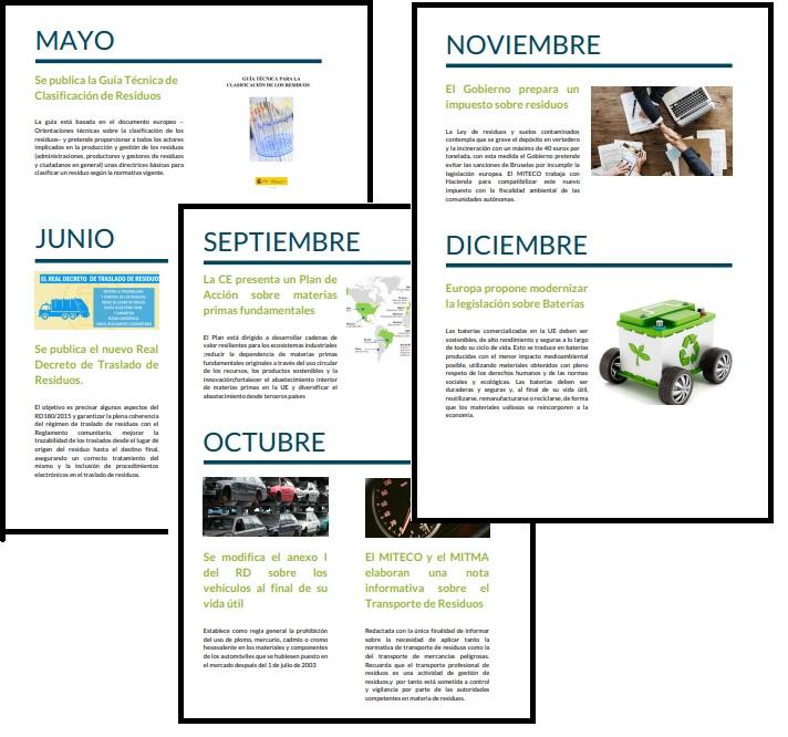 LAS NOTICIAS DESTACADAS EN EL SECTOR DE RESIDUOS DE AUTOMOCIÓN EN 2020