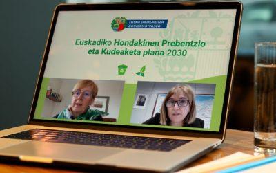 Pais Vasco presenta el contenido del Plan de Prevención y Gestión de Residuos (PPGR 2030)